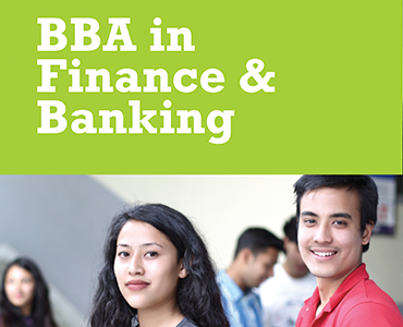 International program BBA Finance and Banking Prospectus
