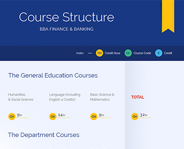 Course Structure BBA Finance & Banking